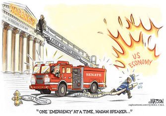 Political Cartoon U.S. Supreme Court congress SCOTUS McConnell Barrett