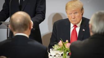 Donald Trump and Putin.