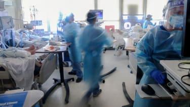 Makeshift ICU in California