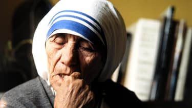 Mother Teresa often questioned her faith.