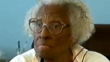 Just weeks shy of her 104th birthday, Vinia Hall was saved from foreclosure by some kind local Atlanta sheriffs.