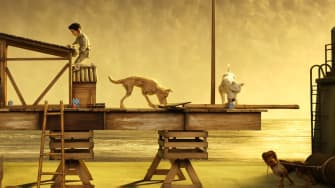 A scene from 'Isle of Dogs.'