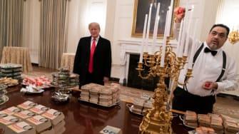 Trump and his favorite foods
