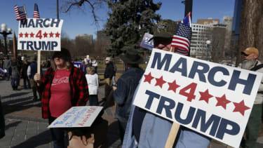 Pro-Trump rally