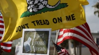 The Taxed Enough Already rallies in April 2009