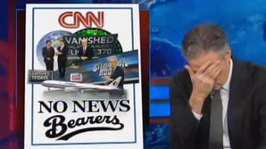 The Daily Show finally figures out CNN's absurd obsession with missing flight MH370