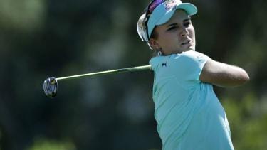 Pro golfer Lexi Thompson.