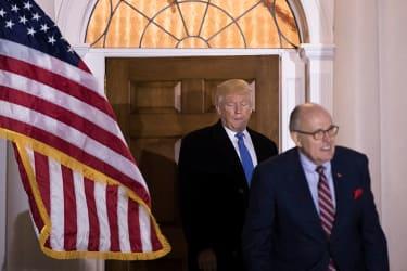 Trump and Rudy Giuliani
