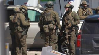 Police officers in Nova Scotia.