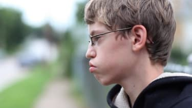 Alex Libby, one of the bullied children in the documentary