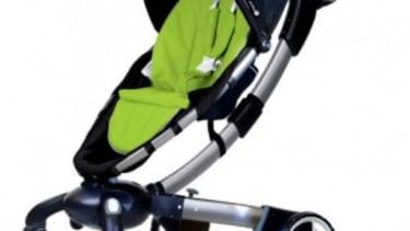 The self-folding stroller