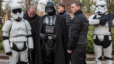 Darth Vader barred from voting in Ukrainian election