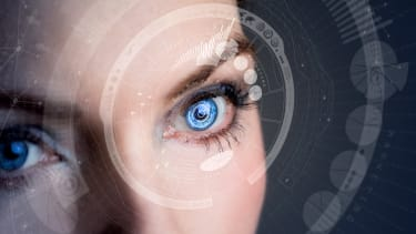 A computerized eye.