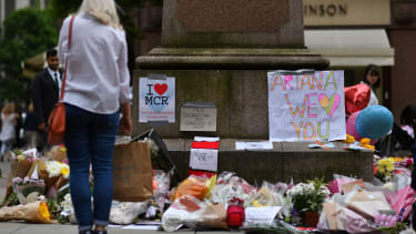 A memorial in Manchester