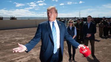 Trump says America is full