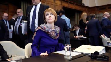 Ex-Top Ukraine Official Olena Zerkal.