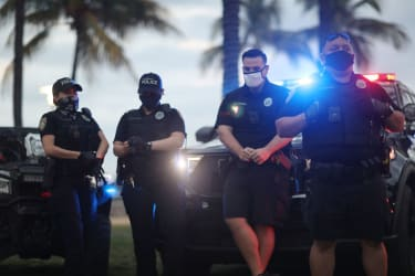 Miami Beach police officers.