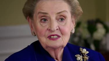 Madeleine Albright.
