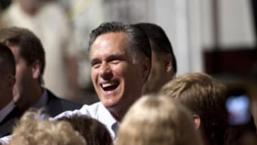 Free from the attacks of his Republican rivals, Mitt Romney's favorability rating has risen from 39 percent in February to 50 percent today.