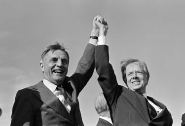 Walter Mondale and Jimmy Carter.