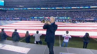 Trumpeter Chris Botti's 'Star Spangled Banner' might just make you get misty, too