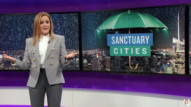 Samantha Bee explains sanctuary cities