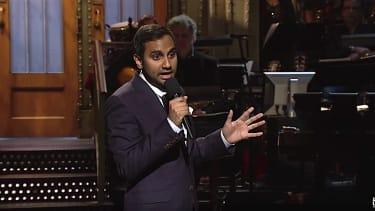 Aziz Ansari kicks off Saturday Night Live