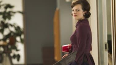 Peggy Olsen (Elizabeth Moss).