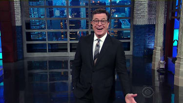 Stephen Colbert has a message about Trump and texts