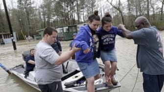 Flooding in Louisiana in March, 2016