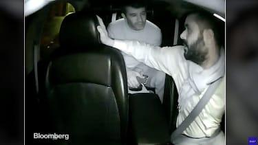 Uber CEO Travis Kalanick yells at his Uber driver on camera