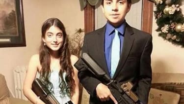 Teenagers suspended over homecoming photo with airsoft guns