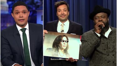 Trevor Noah and Jimmy Fallon recap Night 2 of Democrats debate