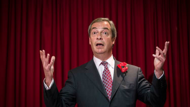 Nigel Farage says he forgot why he was in the Ecuadorean embassy.