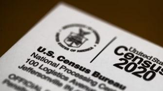 2020 U.S. census form.