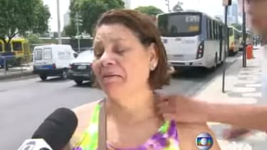 Brazilian woman talking about crime on live TV is attacked by a would-be thief