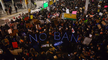 Despite Trump's ban, some refugees will still be allowed into the U.S.