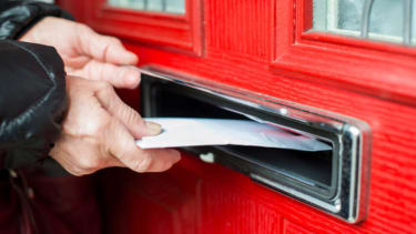 The Postal Service is trying to deliver a letter nearly 70 years after it was mailed