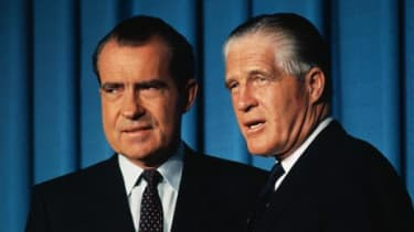 More than 40 years ago, another moderate, electable Republican Romney ran for the candidacy only to be beat out by his more conservative competitor, Richard Nixon.