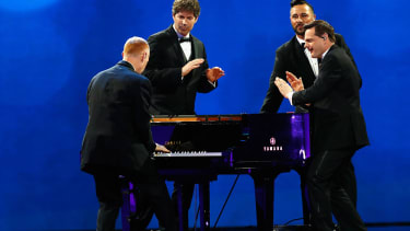 The Piano Guys play Donald Trump's Freedom Inaugural Ball