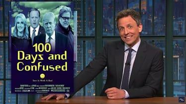 Seth Meyers grades Trump first 100 days