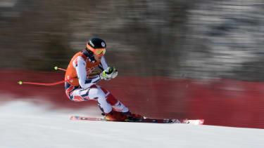 Czech Republic's Jan Zabystran at the Winter Olympics.