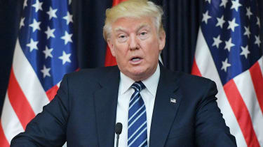 Donald Trump speaks in Bethlehem