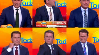 Male TV anchor wears the same suit for a year to prove a point about sexism
