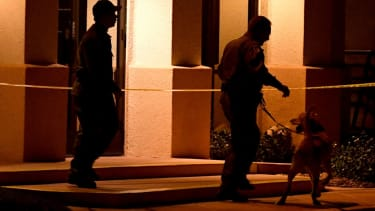 FBI at JCC in Las Vegas.