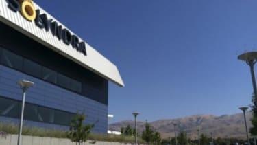 California headquarters of solar-panel maker Solyndra