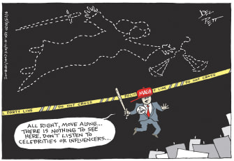 Editorial Cartoon U.S. Breonna Taylor justice
