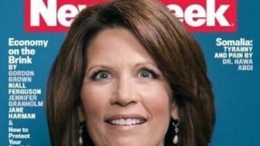 Newsweek's 'crazy eyes' Michele Bachmann cover   The Week