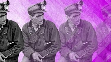 A coal miner.