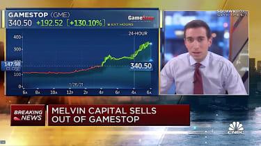 GameStop soars, Melvin Capital crashes